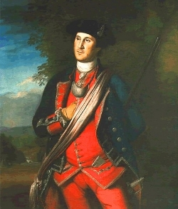 Portrait of George Washington c1772